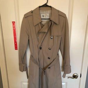 London Fog khaki trench coat